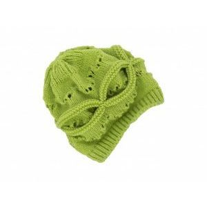 Плетена топла и мека детска шапка с дупки за момиченце - в различни цветове, 1-3 години