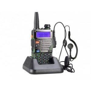 Професионална мощна радиостанция UV-5R - 1 брой, пълен комплект