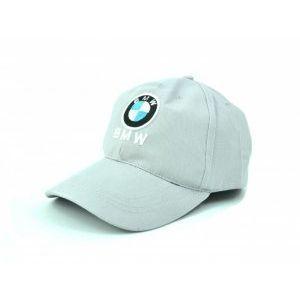 Сива спортна шапка с козирка SPORT GREY BMW