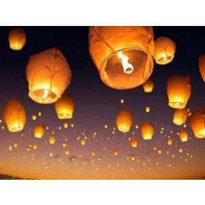 Големи летящи китайски фенери - за празник и споделяне на емоцията