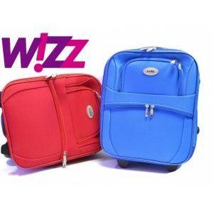 Wizz AIR куфар за ръчен багаж с колелца 701 42/32/16 см