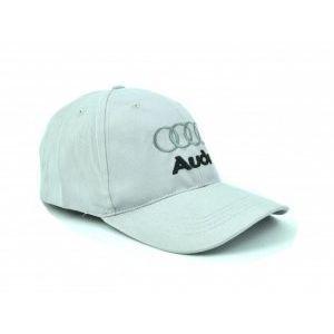Сива спортна шапка с козирка SPORT GREY AUDI