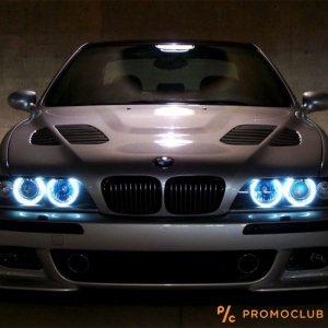 LED фарове ANGEL EYE -ангелско око за BMW 5W за BMW E39, E53, E60, E63, E64, E65, E66, E87