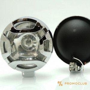 Комплект халогенни фарове за мъгла JM 502 55W - кръгли за ролбари