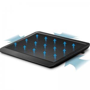 Тънък качествен охладител за лаптопи до 15.6 инча, 33х25 см