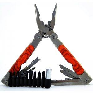 Супер клещи с 10 инструмента + сменяеми 6 отвертки и 3 шестограма