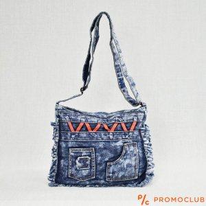 Denim Jeans BAG  11364-13 ETHNO - дамска чанта за през рамо