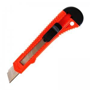 Тотална разпродажба на голям макетен нож BOYAN, чупещ, ширина на резеца 18 мм