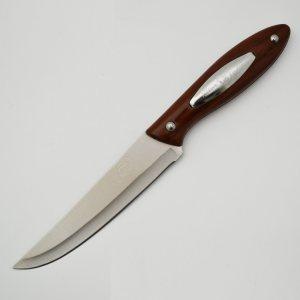 Много издръжлив класически кухненски нож Qian Jin CHEF Brown на невероятна цена