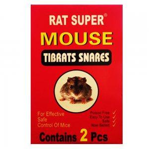 2 броя лепкащи капани за мишки MOUSE TIBRATS SNARES
