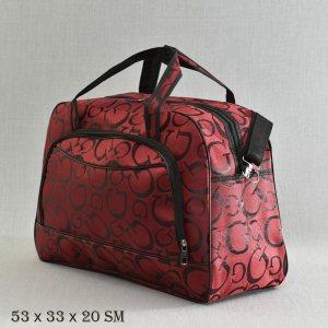 671c8f807f0 Великолепна пътна чанта MIDDLE G BORDEAUX 13-128