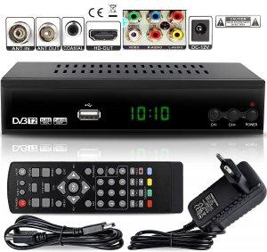 Ефирен цифров приемник  DVB T2 с всички екстри, вкл. и сръбски програми, и за колата