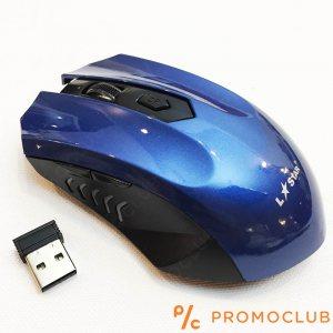 Безжична мишка LS GAME МS36RF BLUE,  2.4GHz, 3000 FPS, 1600 DPI