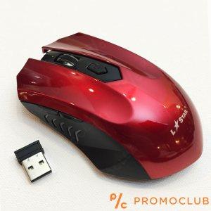 Безжична мишка LS GAME МS36RF RED,  2.4GHz, 3000 FPS, 1600 DPI