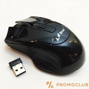 Безжична мишка LS GAME МS44RF BLАCK,  2.4GHz, 3000 FPS, 1600 DPI