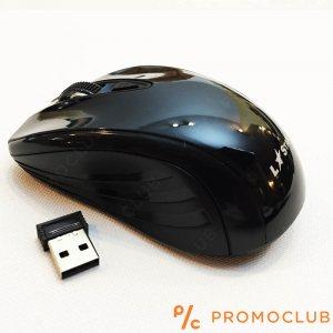 Безжична мишка LS МS55RF BLACK,  2.4GHz, 3000 FPS, 1600 DPI