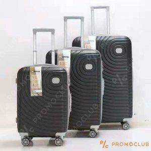 Най-висок клас спинъри DL DELONG Black, 3 броя, ABS пластмаса