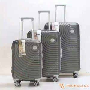 Най-висок клас спинъри DL DELONG Graphite, 3 броя, ABS пластмасa