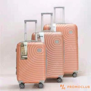 Най-висок клас спинъри DL DELONG Orange cream, 3 броя, ABS пластмасa
