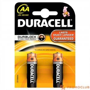 Две батерии DURACELL AA LR06, DURALOCK Alcaline