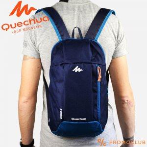 Унисекс раница QUECHUA ARPENAZ 10 DARK BLUE COMPACT,  10 литра, тъмно синя, 12002
