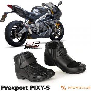 Висок клас мото обувки PREXPORT PIXY-S, номера 38 до 47, с безплатна доставка
