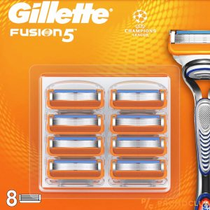 8 ножчета GILLETTE FUSION 5, XL пакет