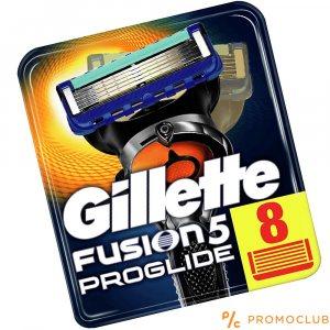 8 ножчета GILLETTE FUSION PROGLIDE 5, XL пакет
