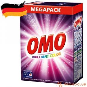 Немски перилен препарат за цветно машинно пране OMO, 4.9 kg за 70 пранета