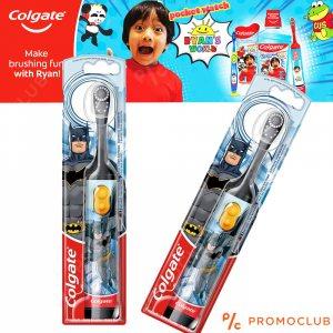 Детска електрическа четка за зъби COLGATE BATMAN, супер мека, 3+
