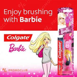 Детска електрическа четка за зъби COLGATE BARBIE, супер мека, 3+