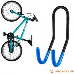Метална вело - стойка за стена, към кормилото