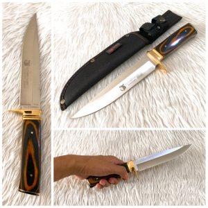 Красив ловен нож COLUMBIA G36, с кания за колан
