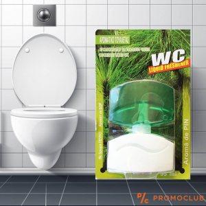 Течен ароматизатор - парфюм за тоалетна ГОРСКИ БОР, 55 мл.