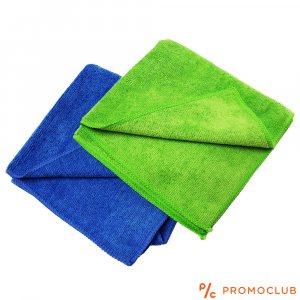 Комплект две микрофибърни кърпи за почистване в кухнята, дома, колата
