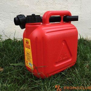 Пластмасова туба за гориво AUTOKIT, с фуния за наливане