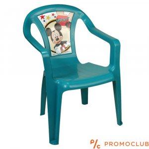 Детски стол Мики Маус, син, 3+ г., до 35 кг
