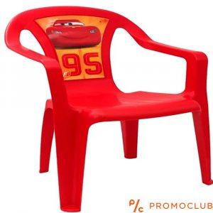 Детски стол Макуин от Колите, червен, 3+ г., до 35 кг