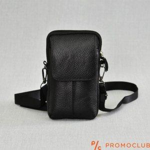 Мъжка чанта от естествена кожа COMPACT SPORT 6710