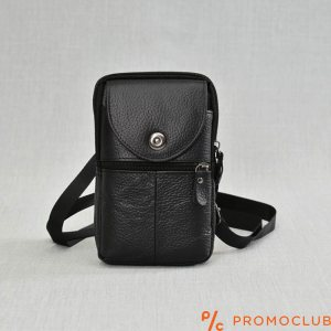 Мъжка чанта от естествена кожа COMPACT LINE 6702