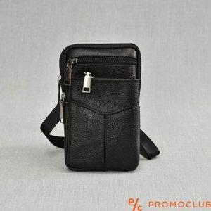 Мъжка чанта от естествена кожа MAN SPORT 22604