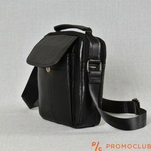 Мъжка ТОП чанта от естествена кожа с две отделения 7029А
