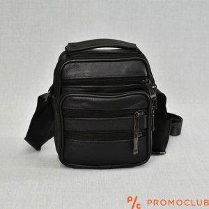 Мъжка чанта от естествена кожа с едно отделение COMPACT 6682