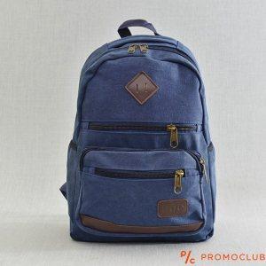 Раница  H.Q.C. CLASSIC 6335 BLUE, брeзент, здрава и практична