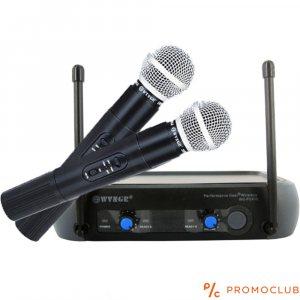Висок клас безжични HiFi микрофони с приемник WVNGR WG-PGX58