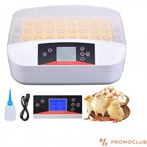 Автоматичен инкубатор за 32 броя яйца YZ-32А,  80W