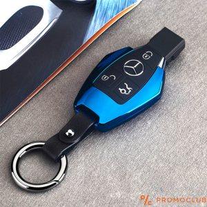 Луксозна синя MERCEDES-BENZ електронна USB запалка  - супер подарък за ценители