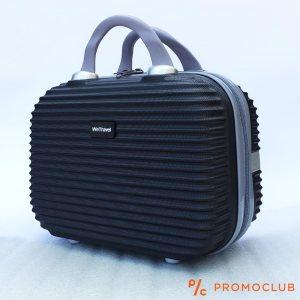 Бутикова надкуфарна авио чанта ABS WE TRAVEL BLACK, елегантна и удобна