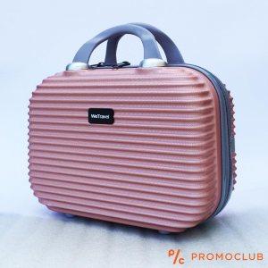 Бутикова надкуфарна авио чанта ABS WE TRAVEL ROSE, елегантна и удобна