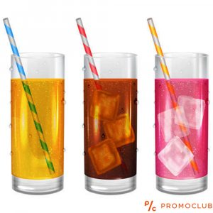 Комплект 6 броя стъклени чаши